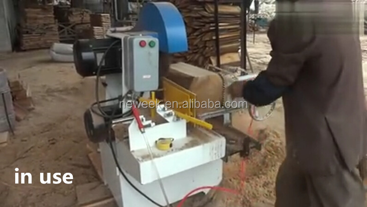 NEWEEK industry handy electric Timber plank wood table sawmill machine