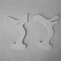 Quality White Color Plastic Stand for Ukulele Violin