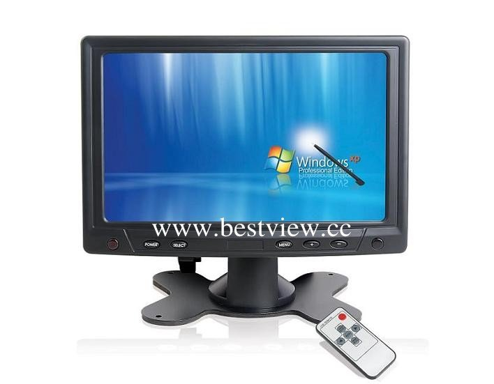 16:9 ratio 7 inch active matrix touch screen monitor
