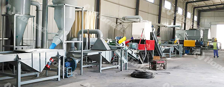rubber raw material tire recycling machine, tire recycling machine for making rubber powder