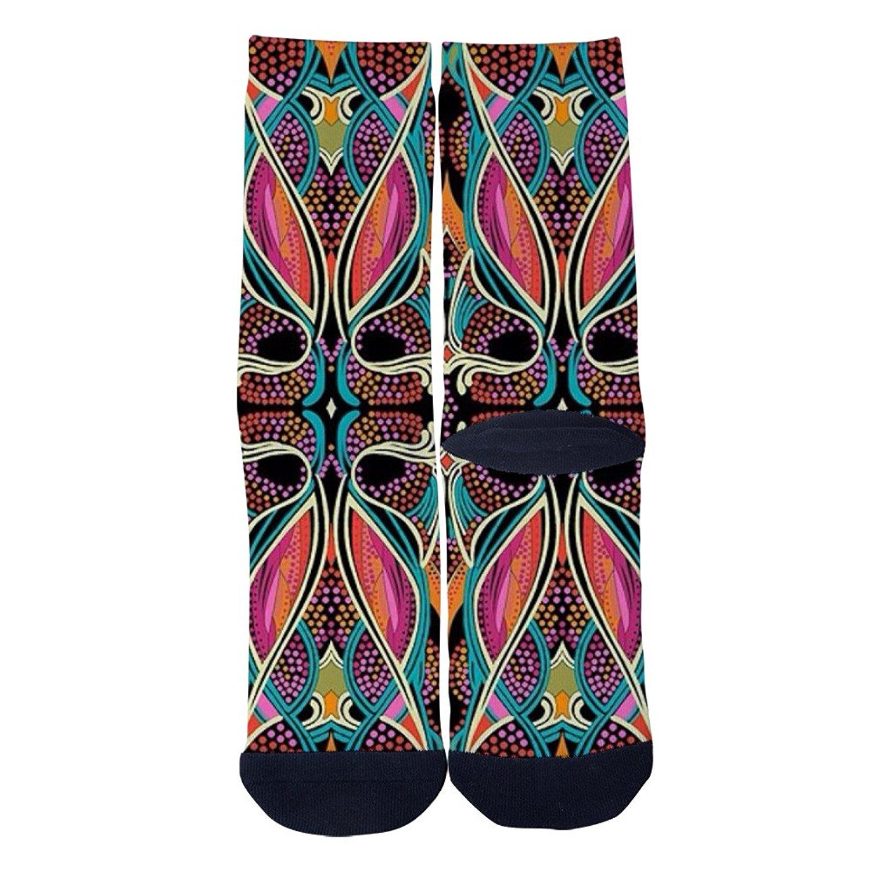 f272317c652 Get Quotations · Mens Womens National Art Socks Custom Personality Socks  Creative Casual Socks Crazy Sport Crew Socks