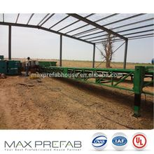 W1600 Senegal H steel frame portable bar mountain warehouse for farm
