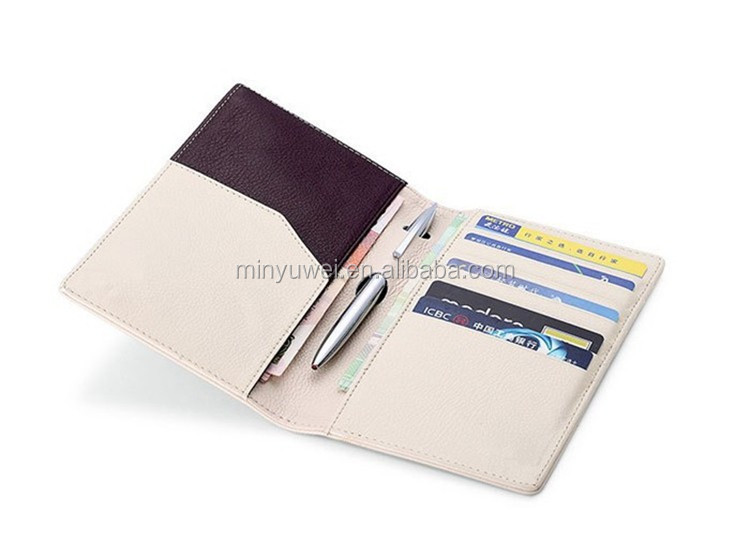 real leather ticket wallet leather rfid passport holder and leather bank card credit card holder