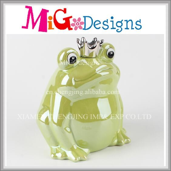 Frog Design Piggy Bank New Style Ceramic Money Saving Box
