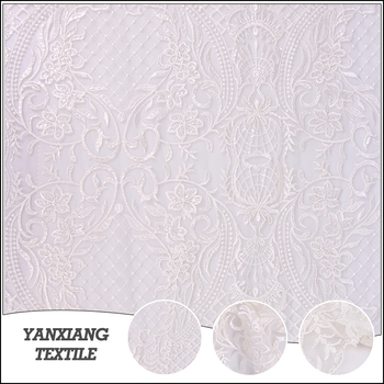 African Wedding Dress Lace Bridal Fabric Suppliers Fabric Lace ( Bridal Fabric And Trim )