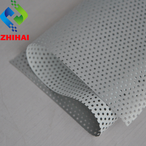 0.18 - 0.28mm 1.5 - 5mWx100mL per pcs Types Of Acoustic Suspended Stretch Ceiling Board Prices For Shops Holed PVC Roof Ceiling