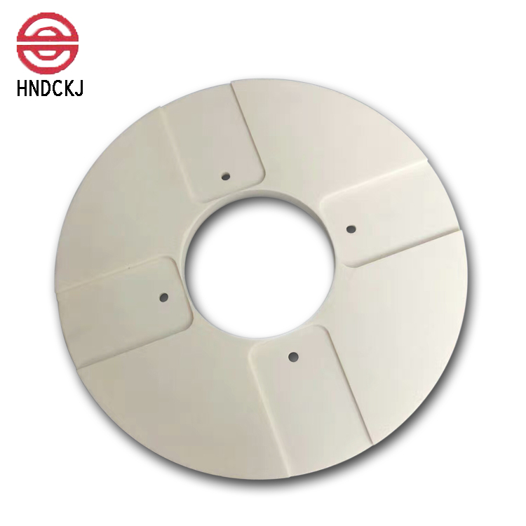 High wear resistance alumina ceramic porous discs with cheap price