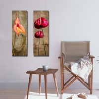 Home Goods Wall Art Cheap Canvas Print Modern Lily Flower Abstract Painting on Canvas