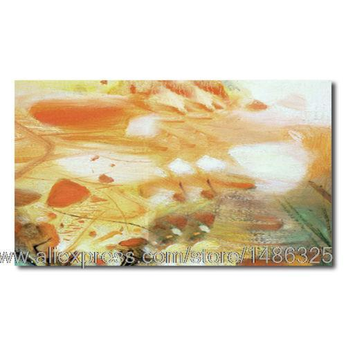 Hand Painted Oil Painting Abstract Orange Painting With Art Supplies Modern Art Wall Panels Pop Art Canvas Art Red Picture