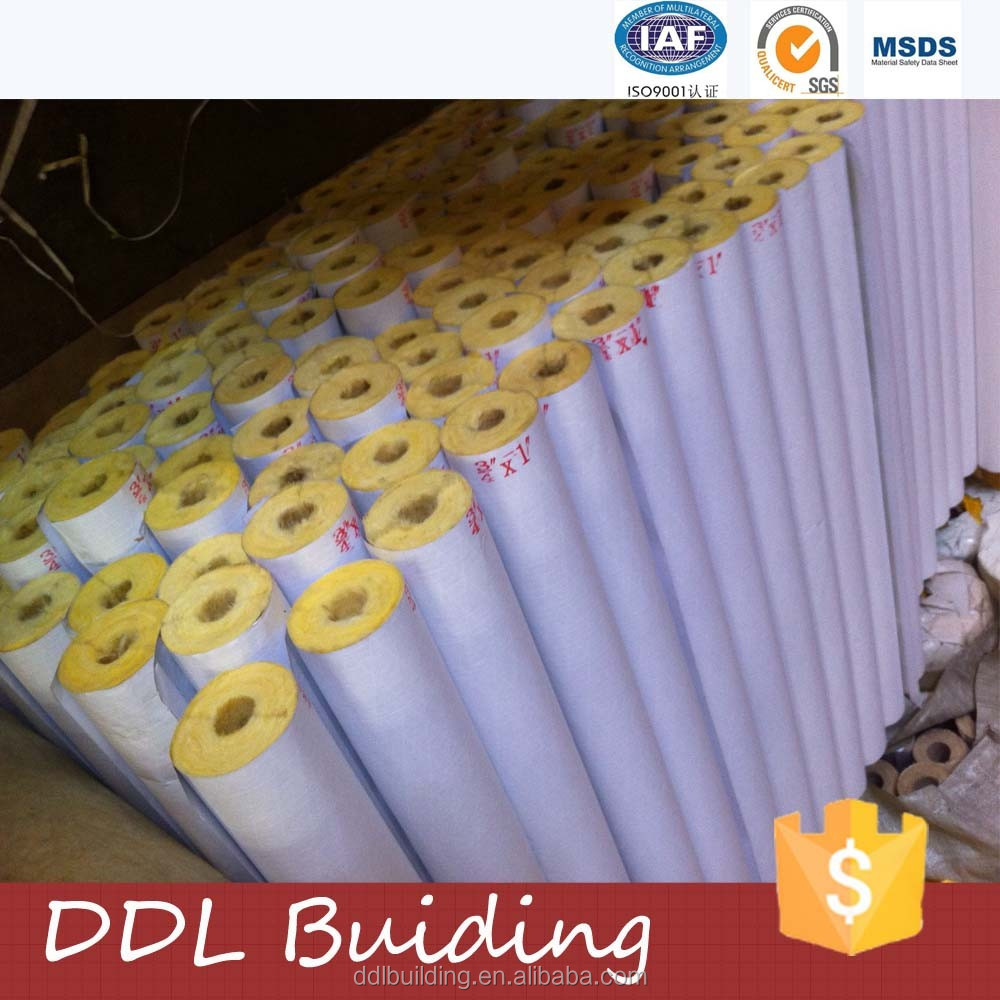 Best price of Rock Wool Pipe With Aluminium Foil