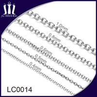 Bag accessories Oval metal O link chain