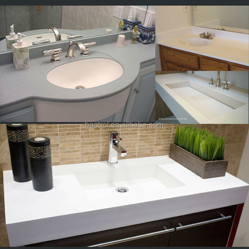 Household Solid Surface Molded Vanity Tops Buy Molded