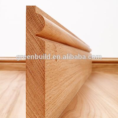 Rodapi de madera junta para pisos de madera maciza - Rodapie de madera ...