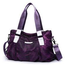 Нейлоновая сумка для багажа, Женская дорожная сумка, Повседневная Большая женская сумка-тоут, Bolsas трапециевидная, с рюшами, камуфляжная жен...(Китай)