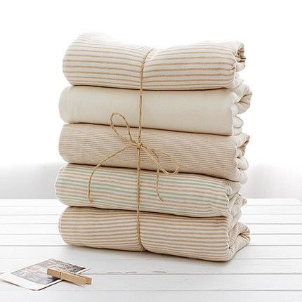 GOTS High Quality 100% Organic Cotton single jersey 40s 120gsm