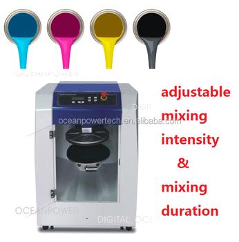 Pintura Color Mezcla Máquina/mezclador De Pintura Para Uñas Polvo ...