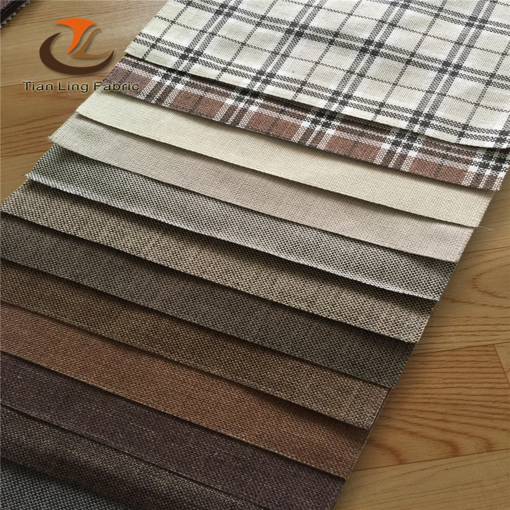 Barato sof tejido de yute tela tapiceria para sof s - Telas para sofa ...
