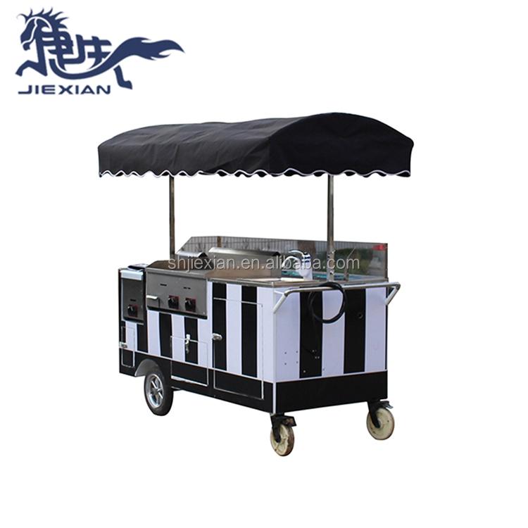 JX-CR180 Street 손 푸시 판매기와 ice cream 카트 대 한 \ % sale