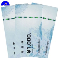 Thermal ticket for sports event,Anti-Counterfeiting Feature paper recharge voucher,Anti-Counterfeiting coupon Printing