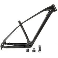 Chinese supplier high quality 27.5er mtb carbon t1000 mountain bike frame 650b with 3K light paint / internal all cable routing