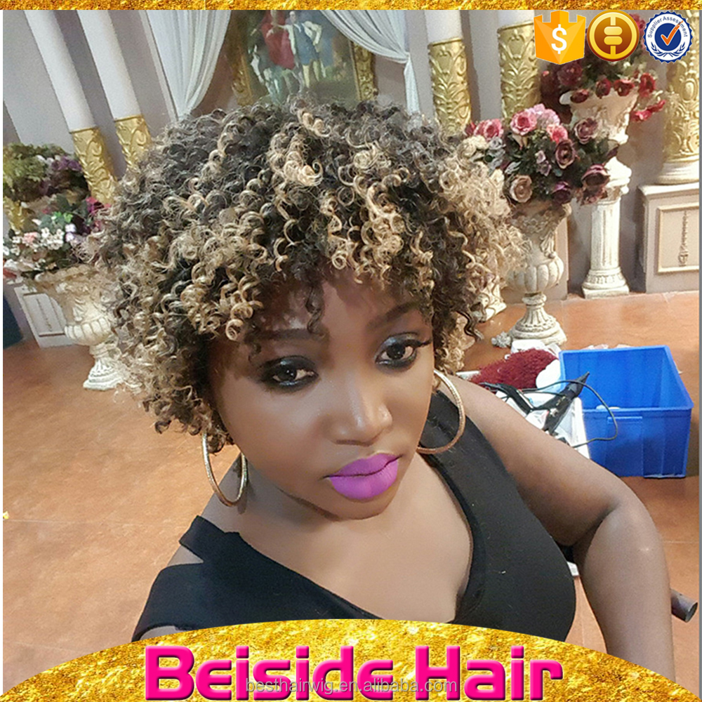 Alibaba express china short hairstyles for women afro hair large african american wigs