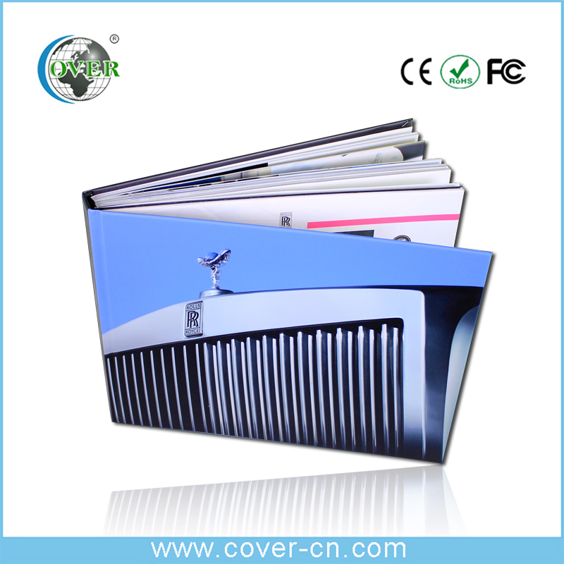 Wholesale high quality video brochure card video book for advertising