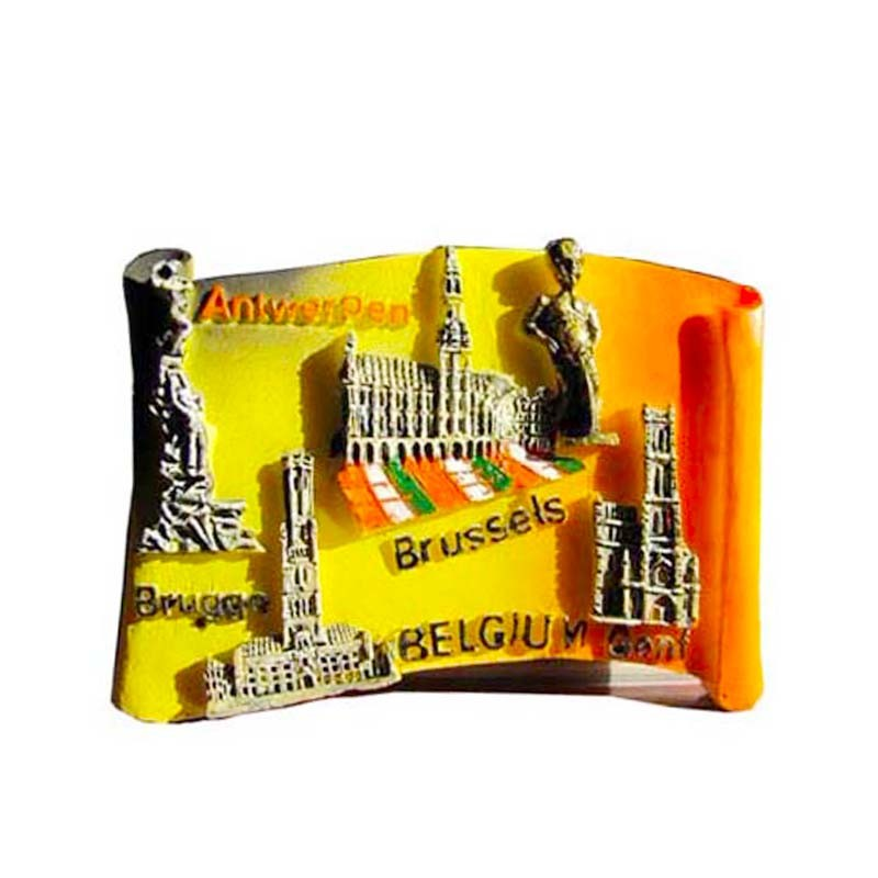 Handmade resin uk london souvenir magnets for fridge souvenir