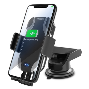 JAKCOM CH2 Smart Wireless Car Charger Holder Hot sale Car Mount Mobile Phone Bracket Stand new 2019 trending product