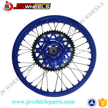 Mx Wheel Rim Set Fit For Yz 250f 450f 1.6*21/2.15*19 2014-2015 ...