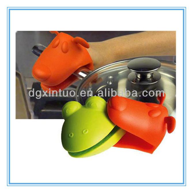 Nuovo stile fda in silicone resistente al calore guanti da cucina guanti di sicurezza id - Guanti da cucina ...