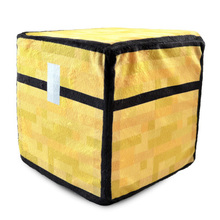 Hot 20cm Minecraft Plush Toys Trapped Chest Steve Creeper Square Stuffed Doll Cartoon Game Toys Pillow