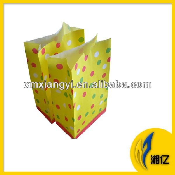Stripe/Polkadot Polka Dot Kids Birthday Party Favor Candy Toys Goody Paper Bags