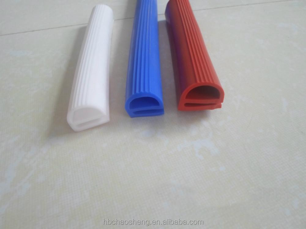 Heat resistant gasket strip were