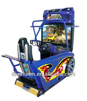 3d Sonic Car Racing Game Machine,Simulator Arcade Racing Machine ...