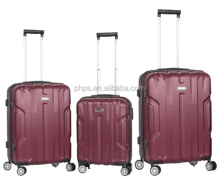 High Quality And Performance ABS Luggage With Alu. Trolley