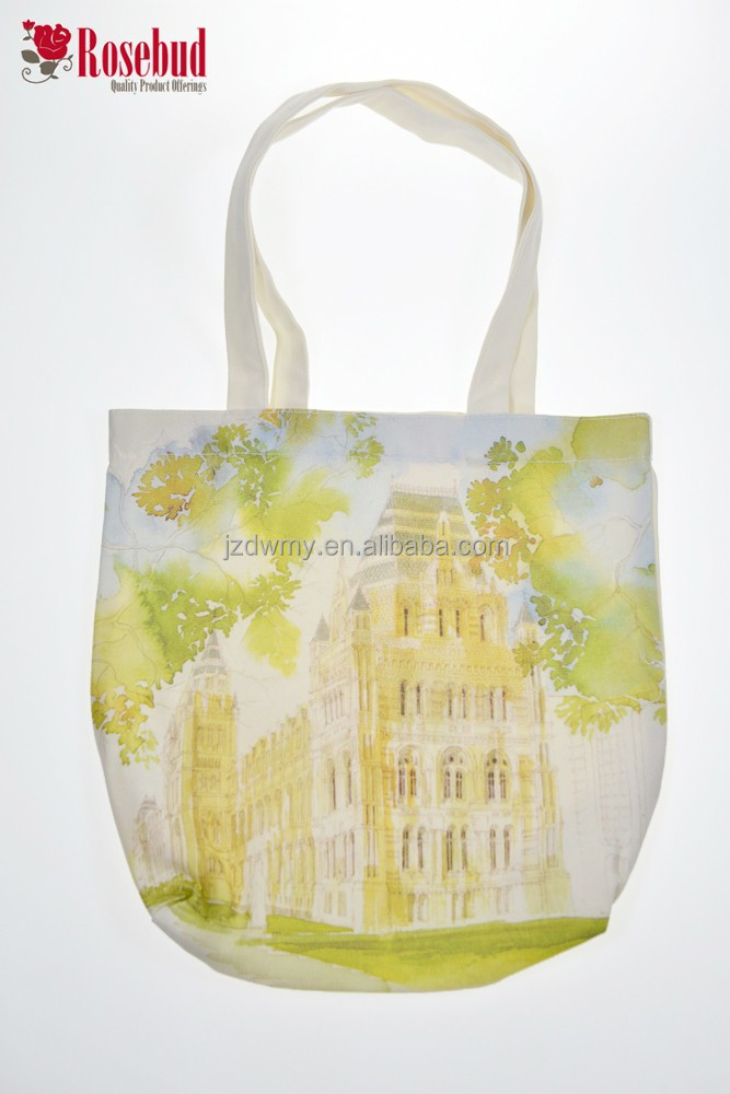 2016 colorful economic reusable tote shopping bag