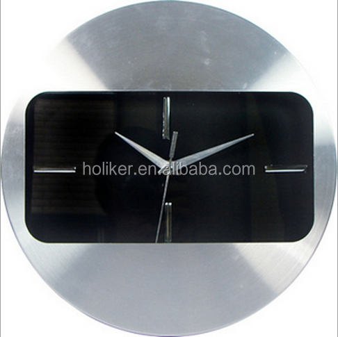 good design with metal material decorative wall clock with special frame