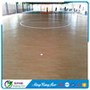 Indoor basketball court wood pvc flooring