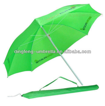 Mini Parasol Beach Umbrella With Carry Bag,Folding Parasol Beach