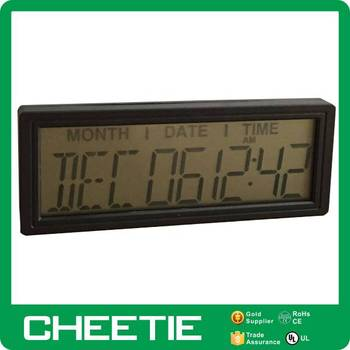 Promotional Projection Battery Operated Electronic Wall Calendar Day
