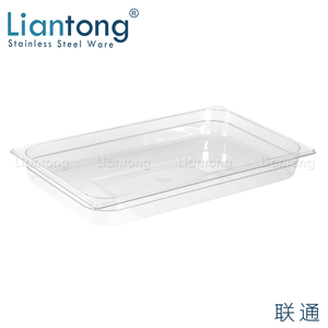 Liantong Factory High Quality plastic food pan gn 1 3 65mm depth gastronorm gn container