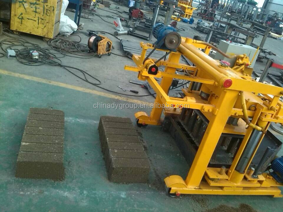 Tiger Concrete Block Machine At 6 Small Electric Brick