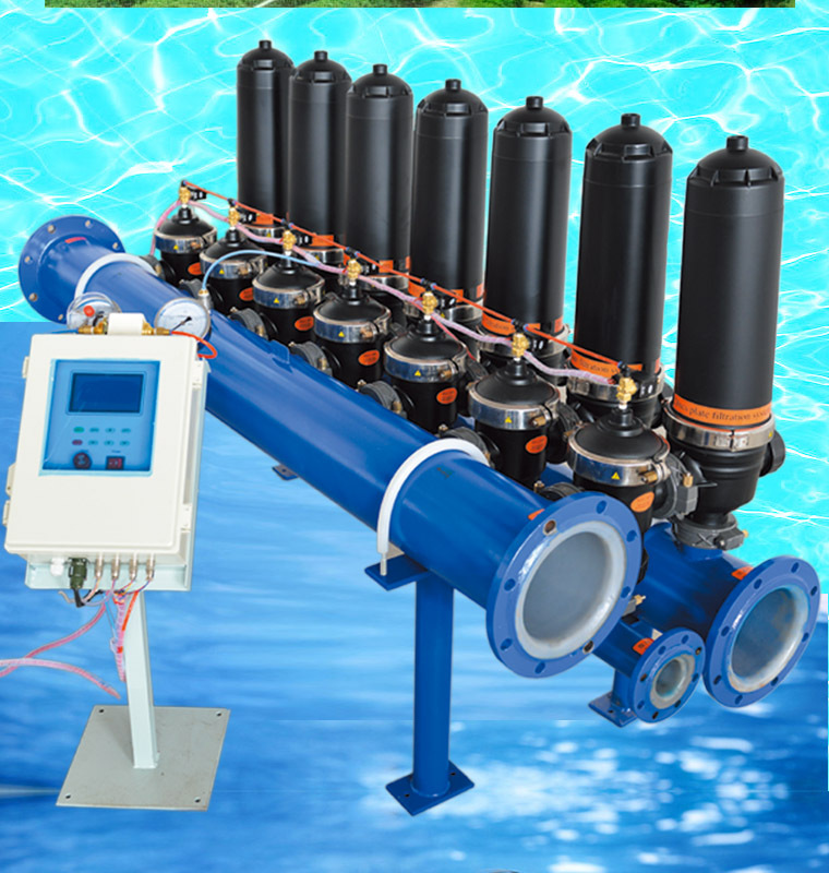 Changzhou auto backwash lake water filter for fish pond on for In line pond filter