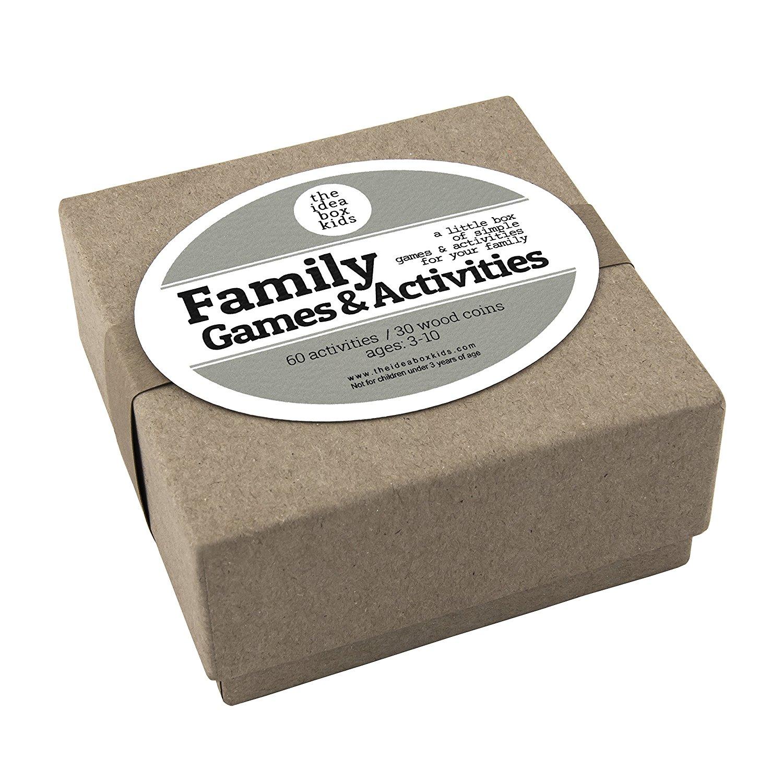 The Idea Box Kids Family Games & Activities: Family Fun Night Ideas