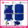 new hard plastic stand holster robort combo case for LG E960 Nexus 4 phone accessory