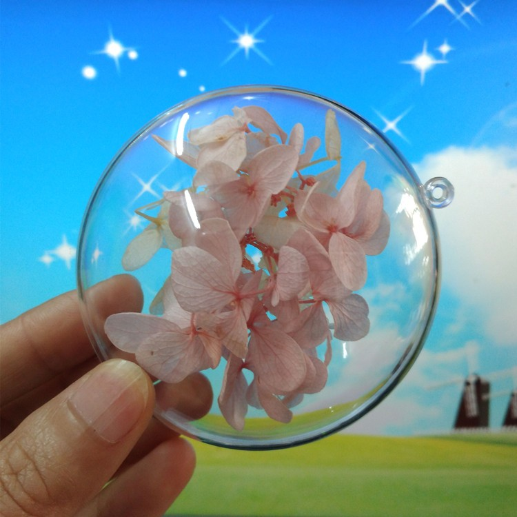 10PCS Christmas Baubles Christmas Fillable Decorations High Transparent Shatterproof Plastic Acrylic Egg-Shaped DIY Xmas Tree Fillable Hanging Ornaments Decoration for Wedding Christmas