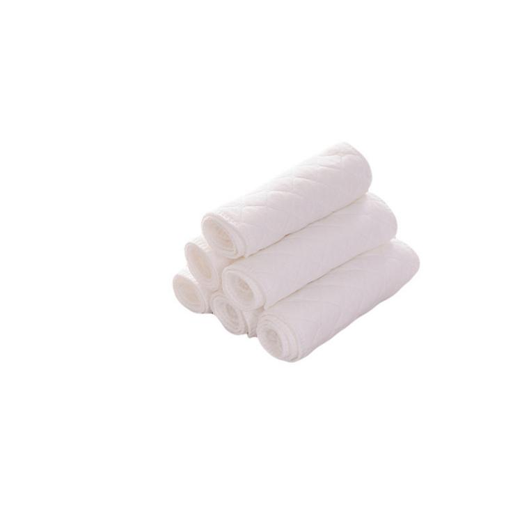 LOW MOQ High Quality washable diaper insert baby hemp cotton nappy insert