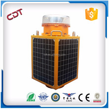 Can supply OEM/ODM aircraft aviation obstruction light manufacturer solar panel warning tower light CK-15T