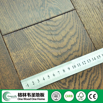 Greenvills New Product Two Ply Real Wood Solid Hardwood Flooring Oak