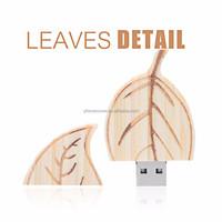Laser engraving customer design Best manufacturer OEM Wooden USB Drives free engrave logo genuine usb 2.0 Wooden USB Drives
